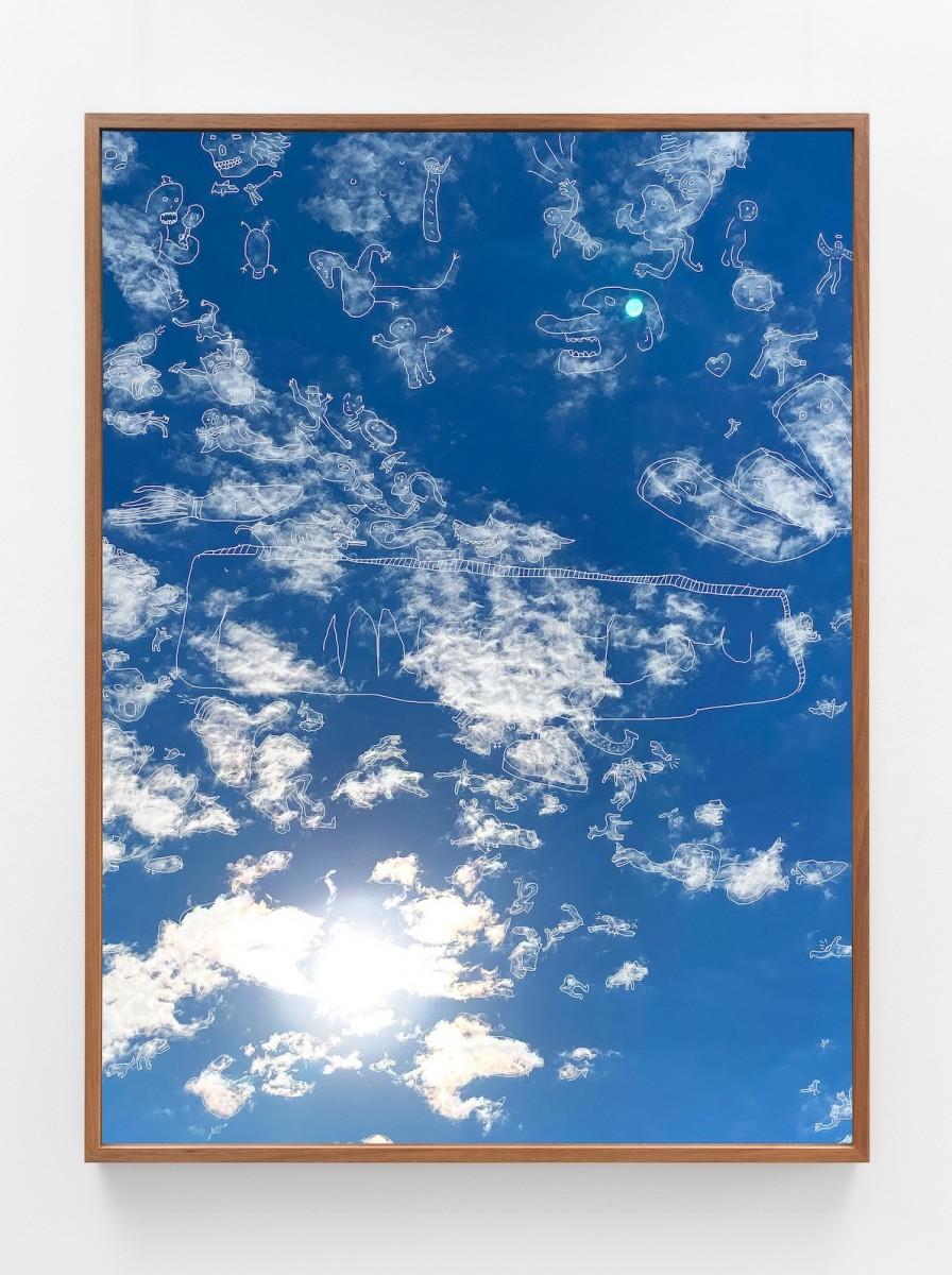Jackson Farley, every kingdom was born to die, 2020, archival pigment print on Cotton Rag, 168cm x 126cm, Image Bret East