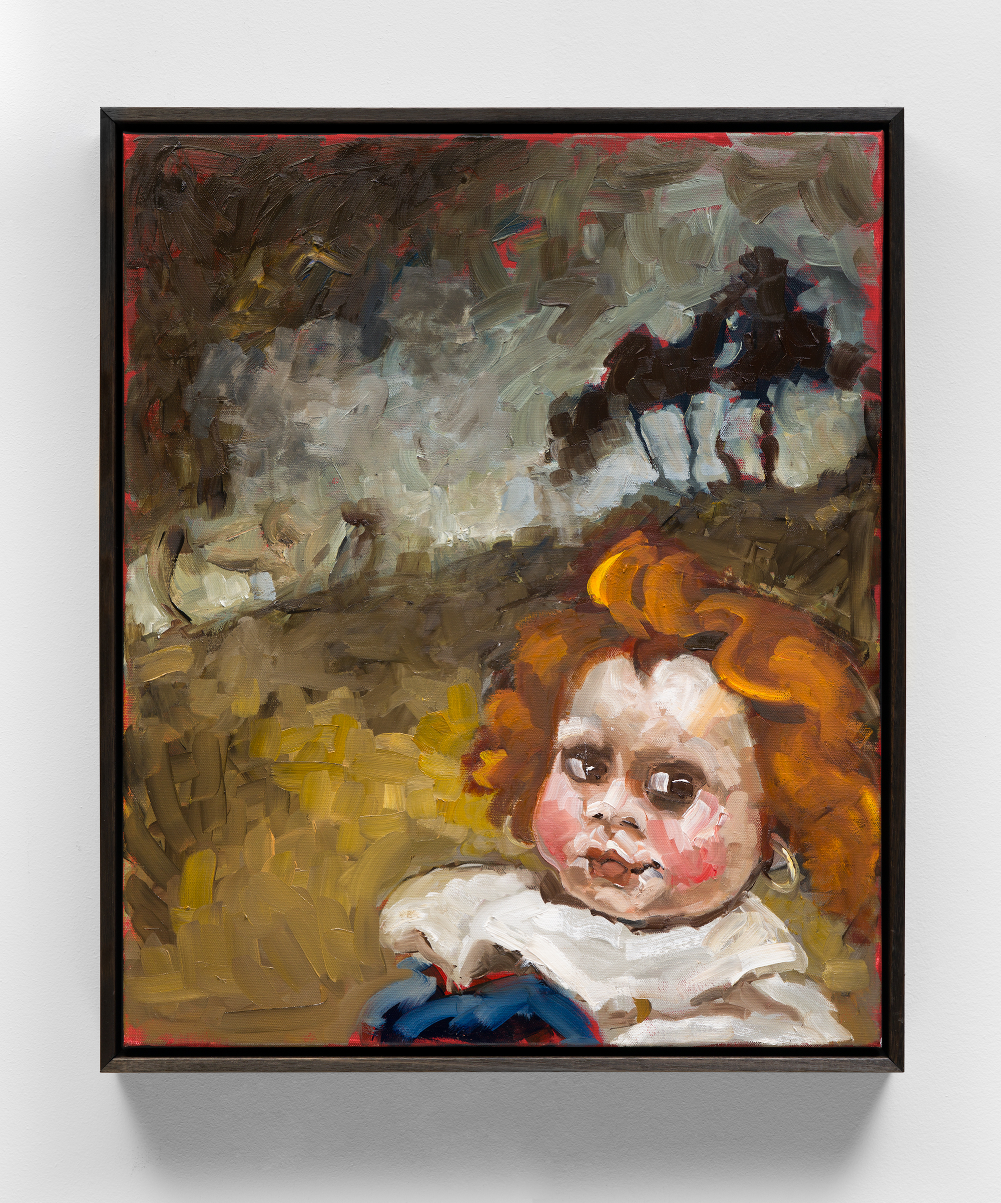 Toni-Messiter, My Mother Said, 2021, Oil on Canvas, 40 x 30 cm Photo Brett East Web Res