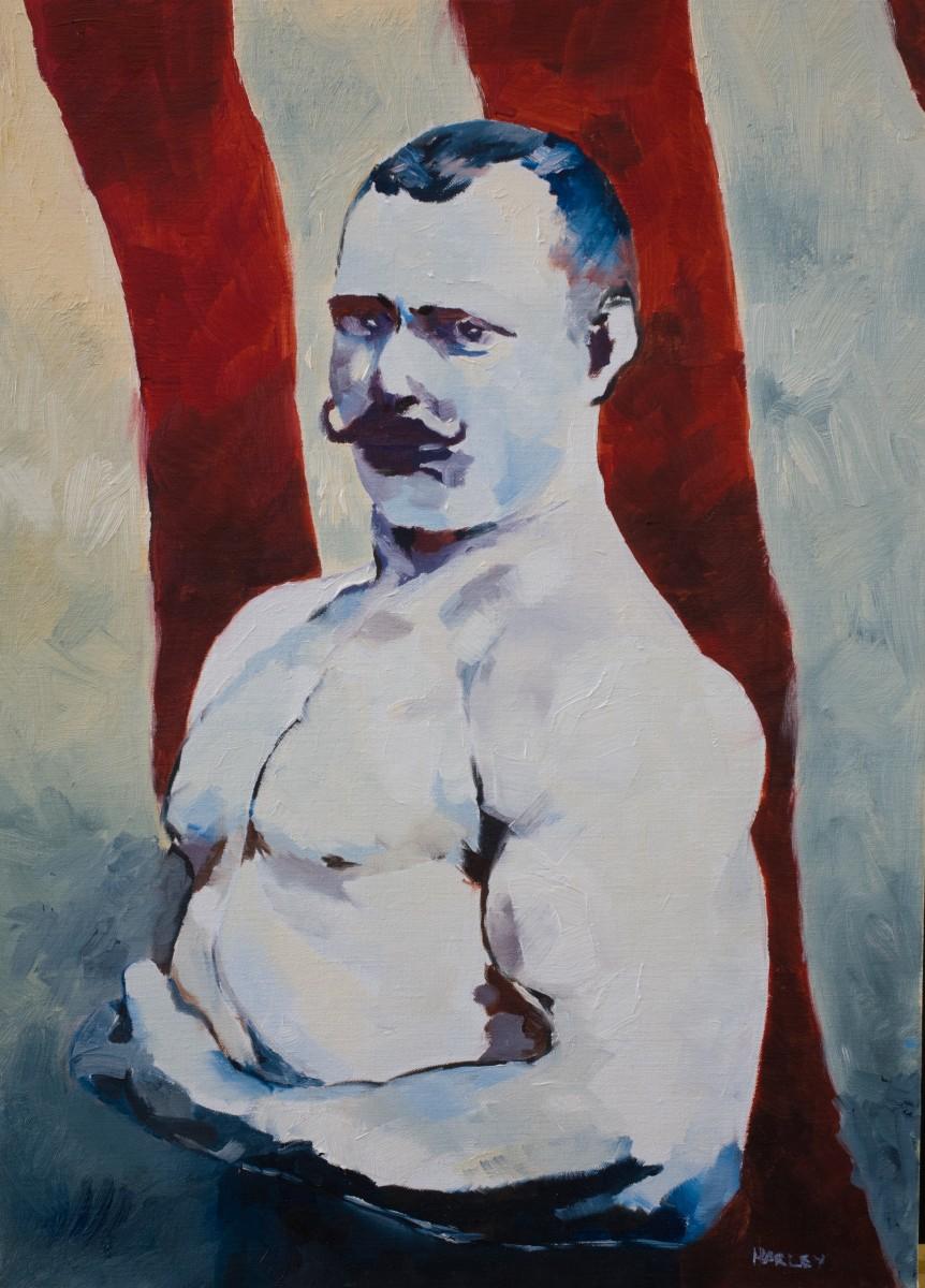 Harley Oliver, Viktor Solovev, 2017, Oil on Linen, 56 x 40 cm - 2,800