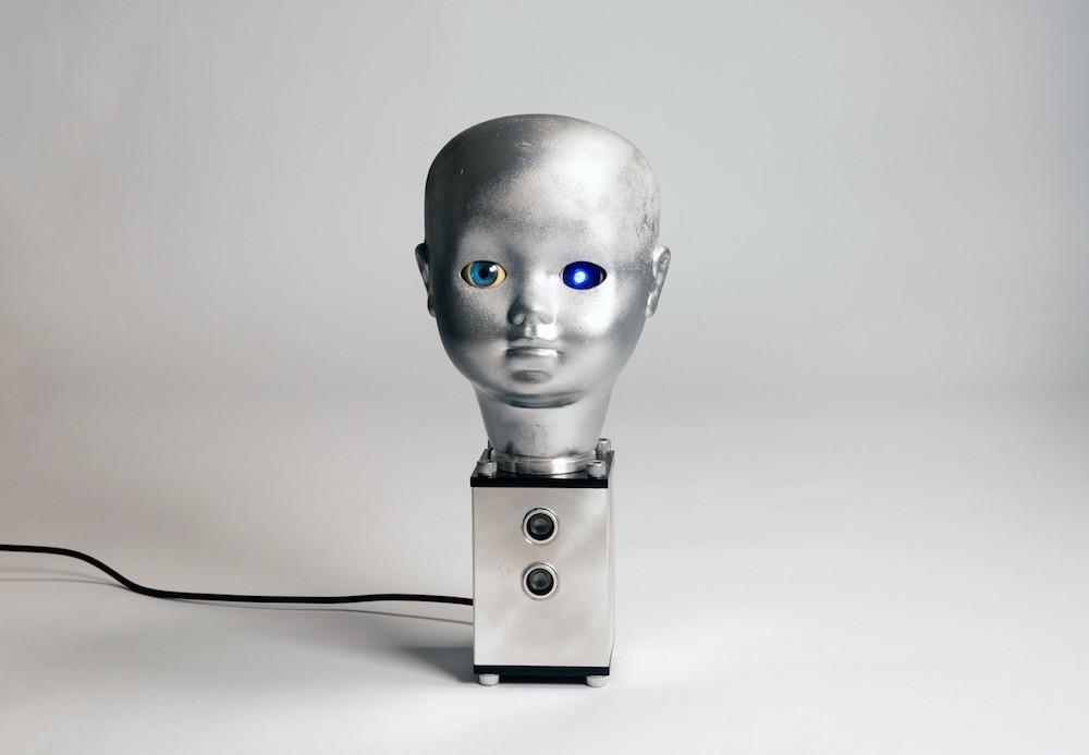 Tor Larsen, I am Not a Machine, 2018, Thermoplastic, Acrylic sheet, Aluminium, Electric circuit, Servomotor, 26x11x11cm - 2800 3