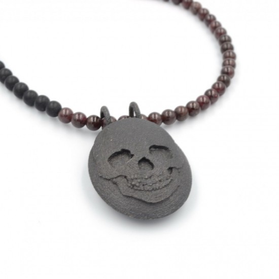 Skull Medallion Necklace
