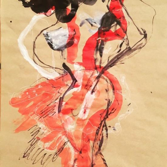 Red Dancing Devil In Love