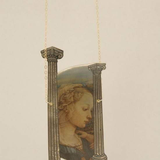 Madonna Among the Ruins (Necklace)