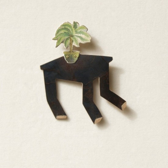 That Table that Went for a Stroll (Brooch)