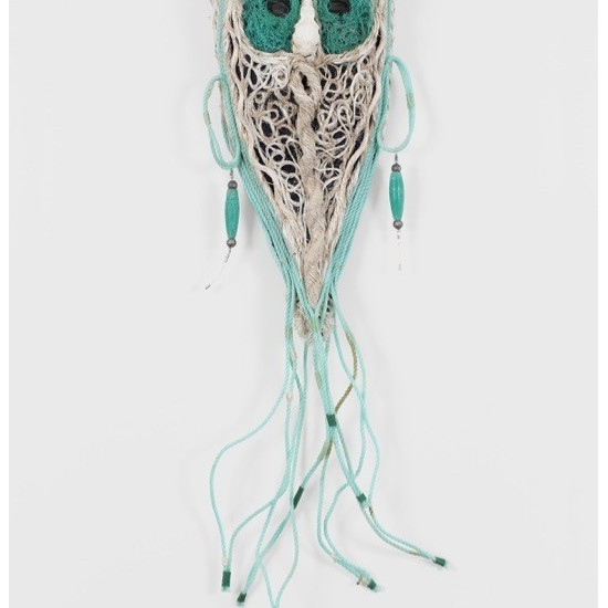 Mask with Bird Skull
