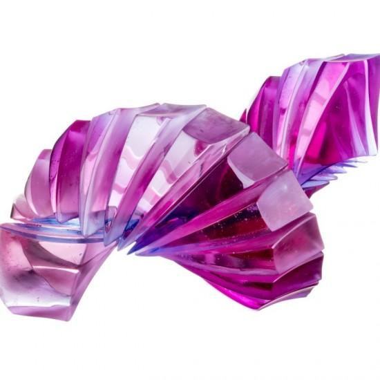 Violet Blue Curl