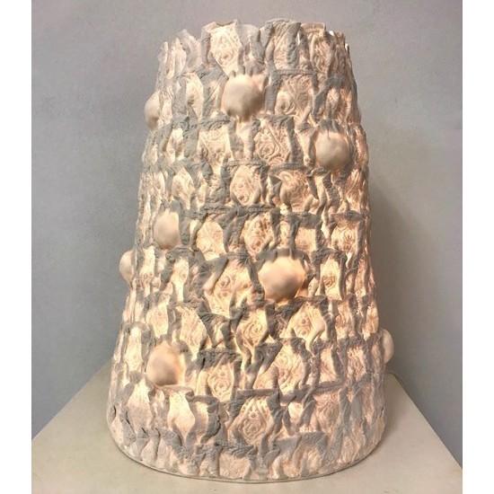 Jo Wood - Batik Nodule Lamp