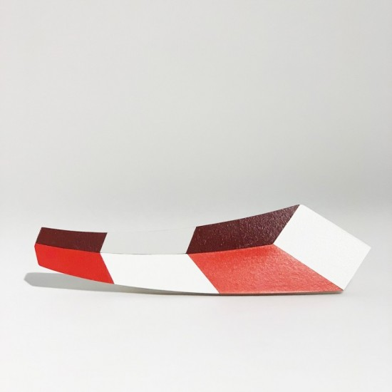 Red and White Post
