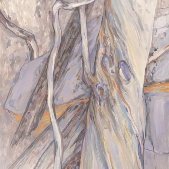 Grey Tree Trunks