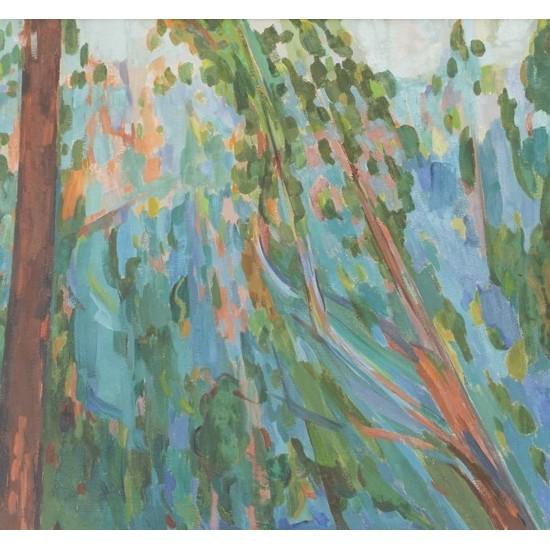 Landscapes No.6, Slanting Bough Hillside