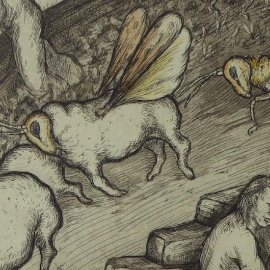 Denise Scholz Wulfing - Saint Barbara the Locusts