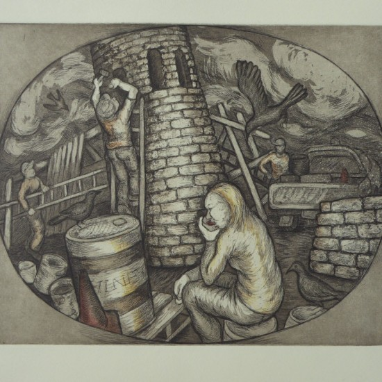 Denise Scholz Wulfing - Saint Barbara the Tower