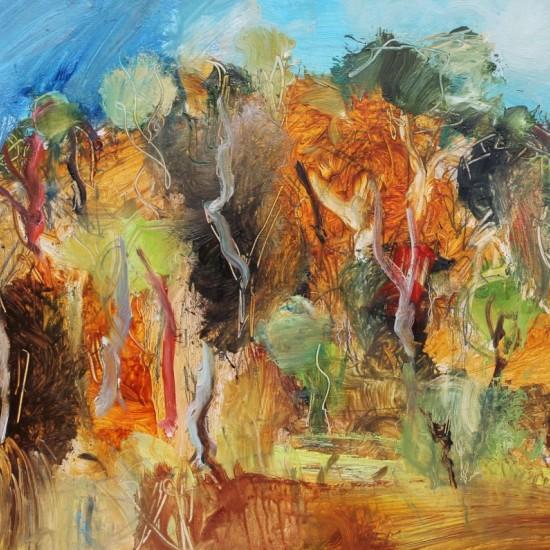 Denis Clarke - Wollombi Hillside