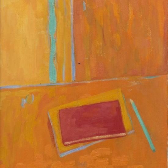 James Barker - Interior Books and pencil