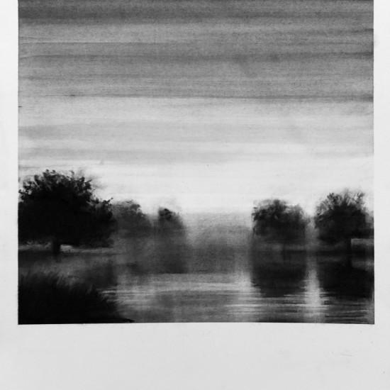 Dawn, Lake Labarth Caylus