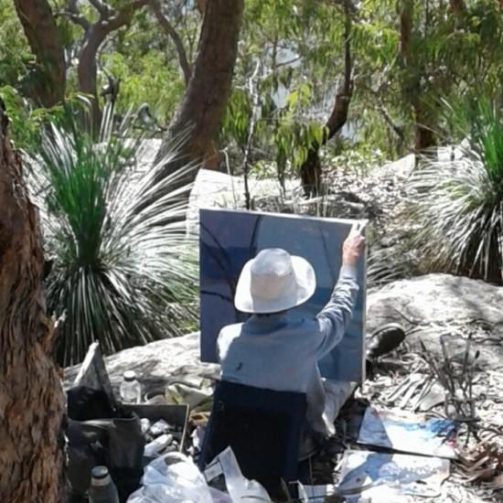 David Collins at Dangar Island