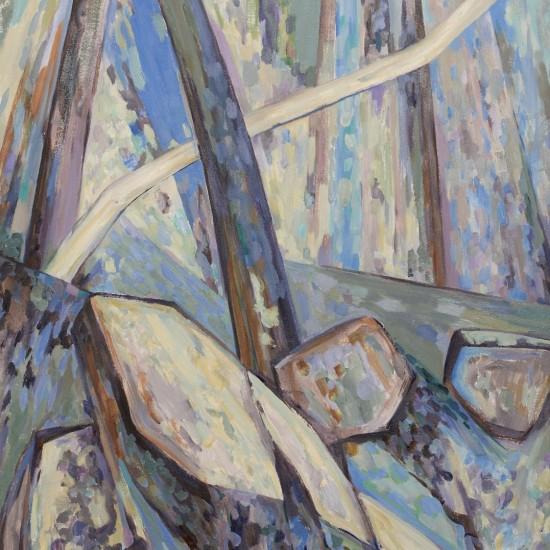 Landscape with Diagonals