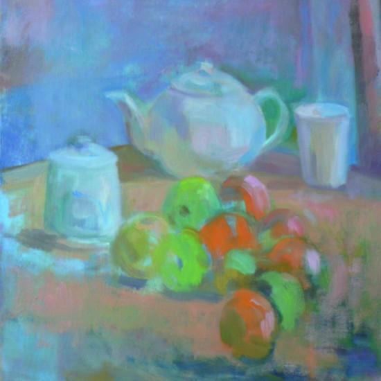 Apples, Oranges, and Studio Teapot