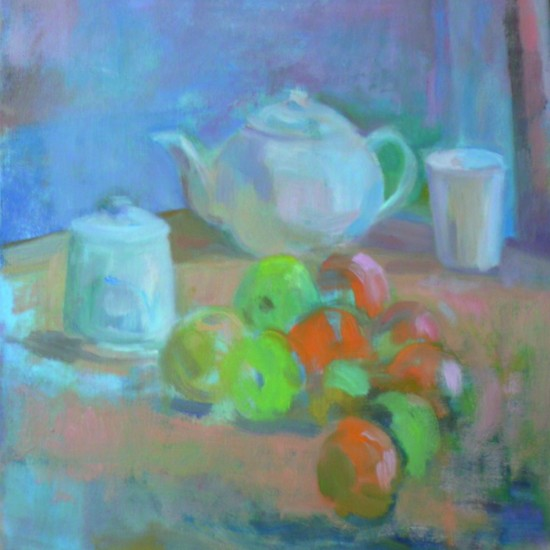 Apples, Oranges, and Studio Teapot