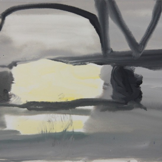 Study for Fog and the Bridge 2