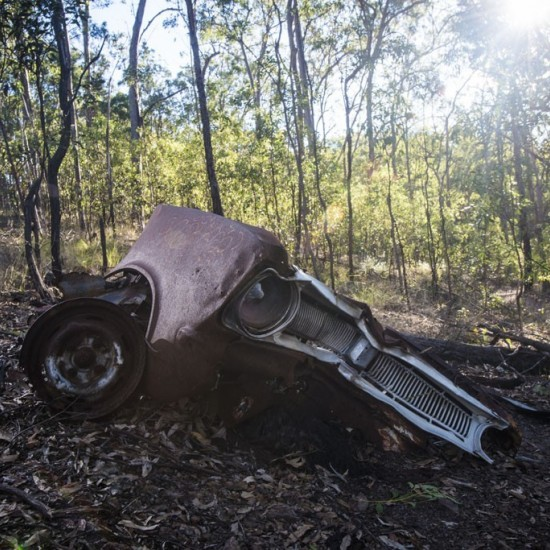 The Toyota car wreck