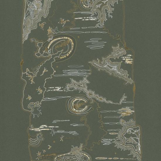 Birch Tree Study II (Moss)