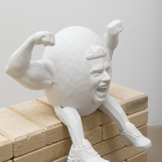 artist as humpty dumpty as god as artist (close up) TESTAMENT PT. XXXXXXVIIII