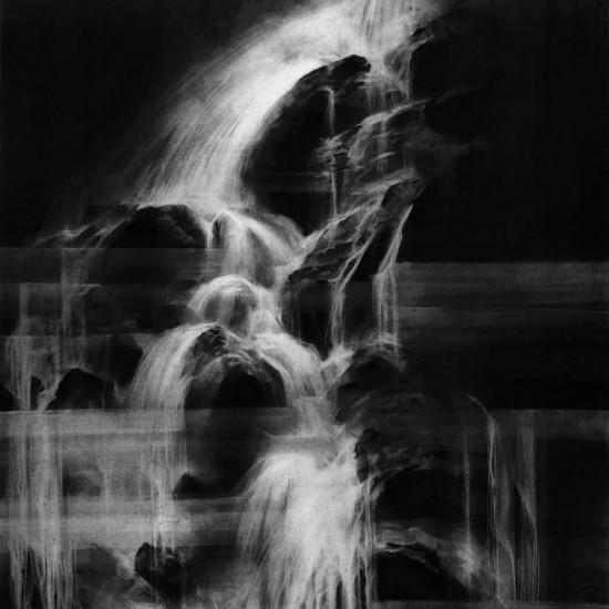 Midnight Waterfall I