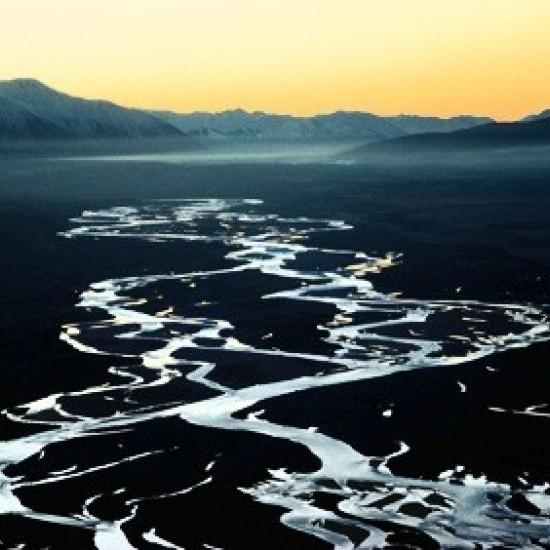 02 Rakaia River at dusk