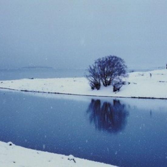 05 Snowing in Lake Tekapo