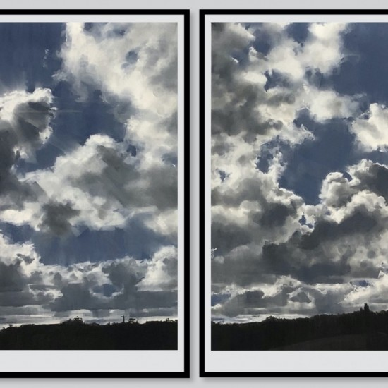 Set wide the window diptych