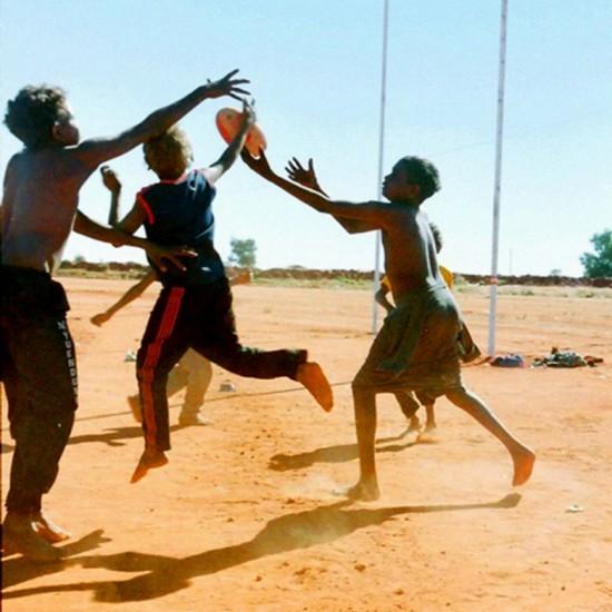 The Footballers - Yuendemu, Northern Territory, 1997