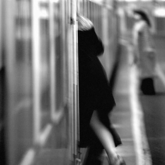 Train Commuter - Spencer Street Station, Melbourne, Victoria 1999
