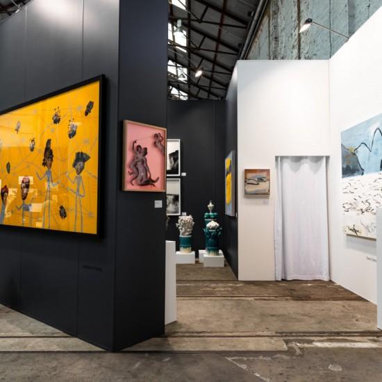 Sydney Contemporary 2018 Jackson Farley Installation