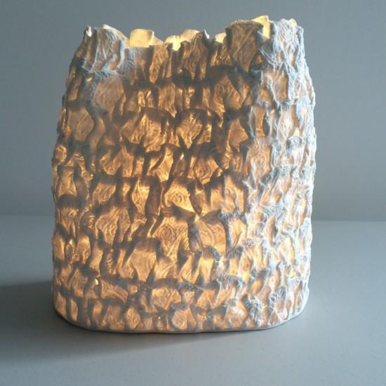 Jo Wood, Batik Paper Bag Light