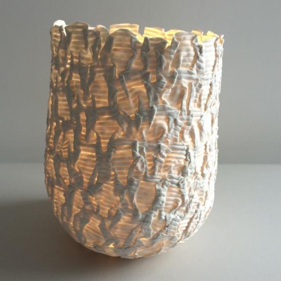 Jo Wood, Horizontal Corrugated Light