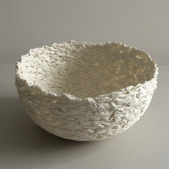 Jo Wood, Folded Bowl 2