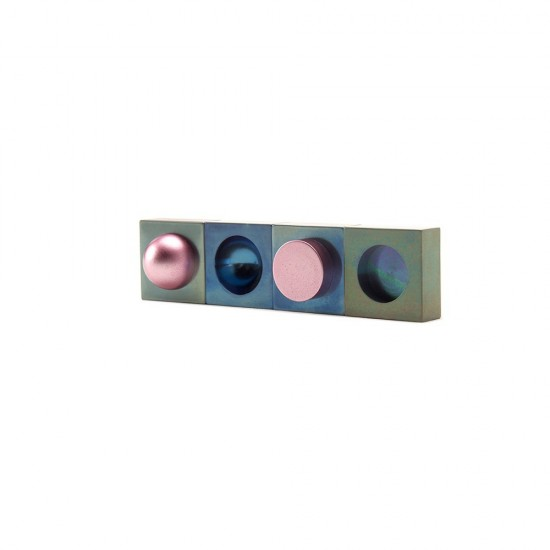 Binary Brooches: Convex, Concave, Cylinder and Recess
