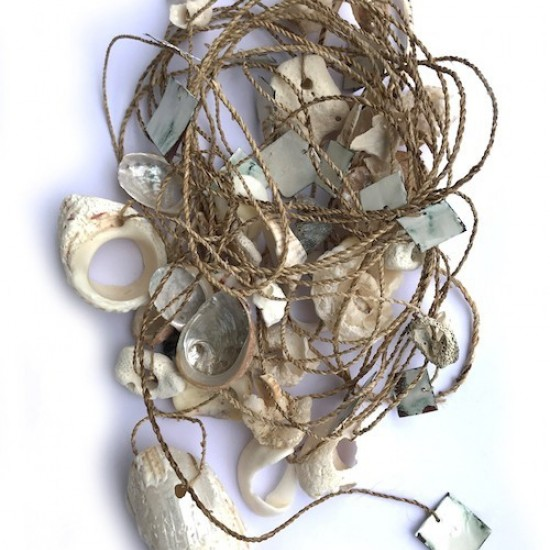 Bird Island Research (Neckpiece)