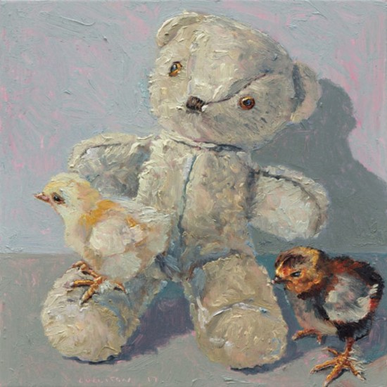 Carolines bear with unnamed chick